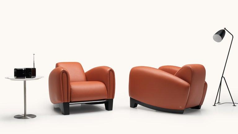 Modern De Sede DS 57 Armchair in Teak Upholstery by Franz Romero For Sale