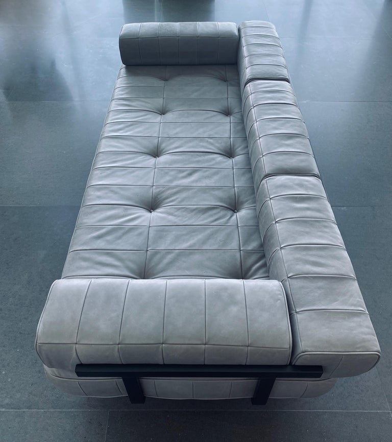 20th Century DeSede DS 80 Leather Daybed Sofa For Sale