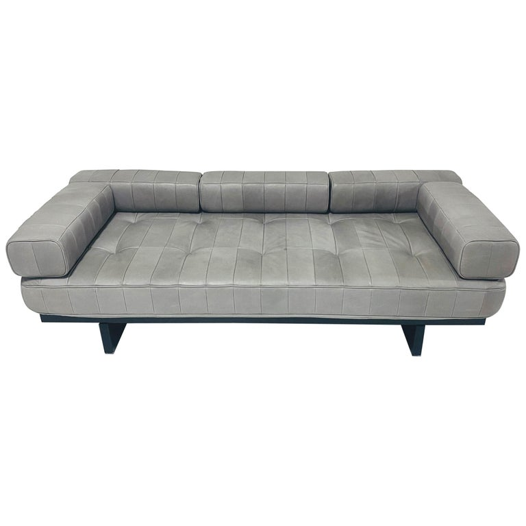DeSede DS 80 Leather Daybed Sofa For Sale