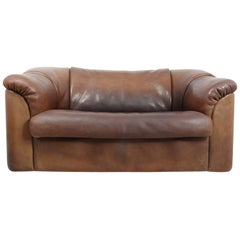 DeSede DS45 Sofa in Brown Neck Leather