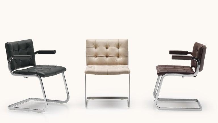 Modern De Sede RH-305 Chair in Cafe Upholstery by Robert Haussmann For Sale