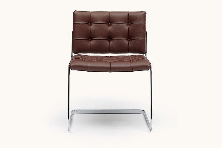 Swiss De Sede RH-305 Chair in Cafe Upholstery by Robert Haussmann For Sale