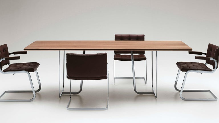 Contemporary De Sede RH-305 Chair in Cafe Upholstery by Robert Haussmann For Sale