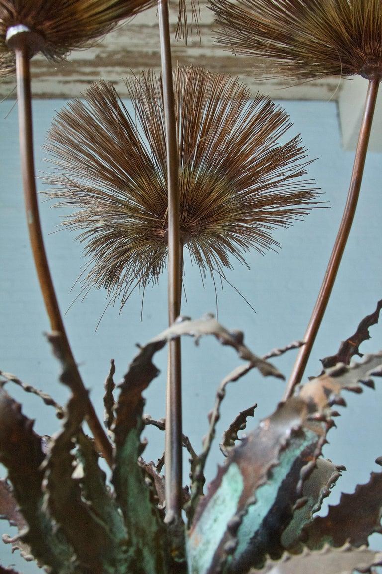 Desert Flowers Sculpture by John Steck, 1960s For Sale 2
