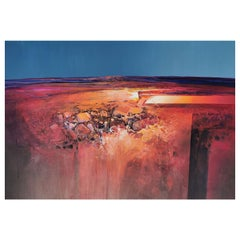 Desert Light, Australian Painting