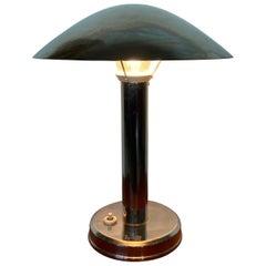 Design Bauhaus Chrome Table Lamp, 1930s
