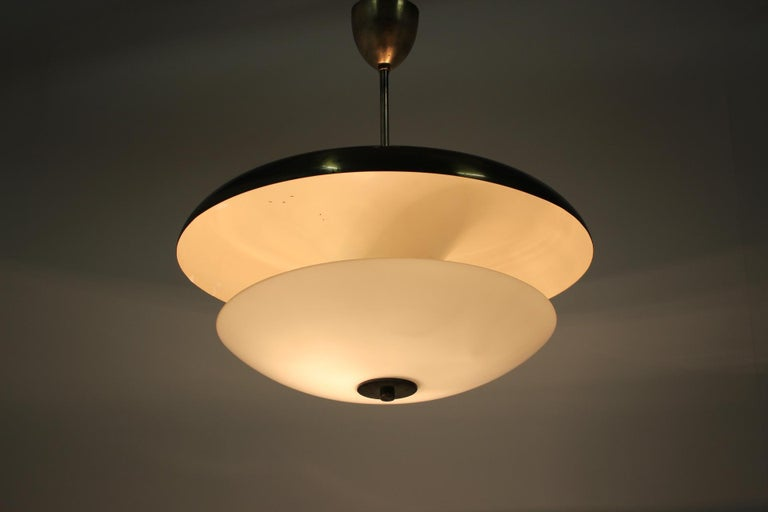 Design Bauhaus Pendant / Napako, 1940s In Good Condition For Sale In Barcelona, ES