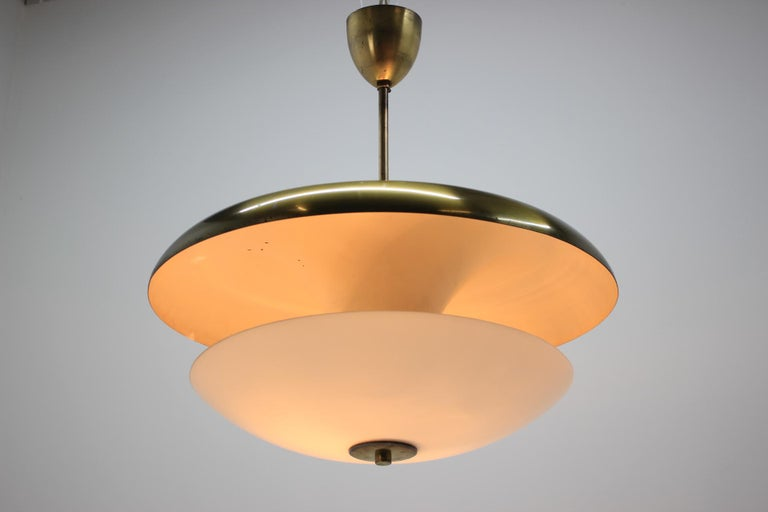 Mid-20th Century Design Bauhaus Pendant / Napako, 1940s For Sale