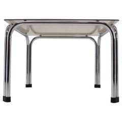 Design Chrome Coffee/Side Table by Viliam Chlebo, Czechoslovakia, 1980s