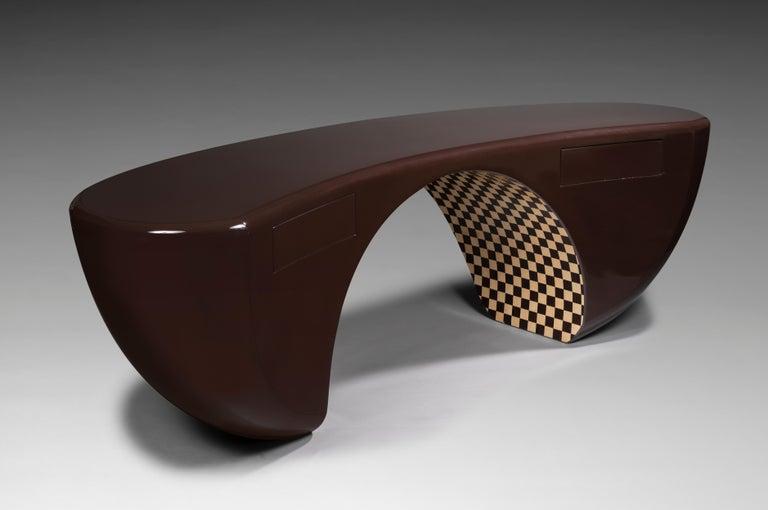 Modern Design Desk, French Designer Charly Bounan For Sale