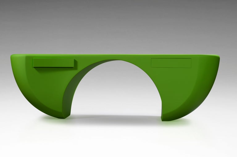 Contemporary Design Desk, French Designer Charly Bounan For Sale
