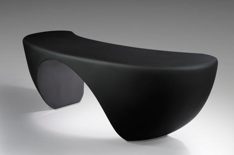 Resin Design Desk, French Designer Charly Bounan For Sale