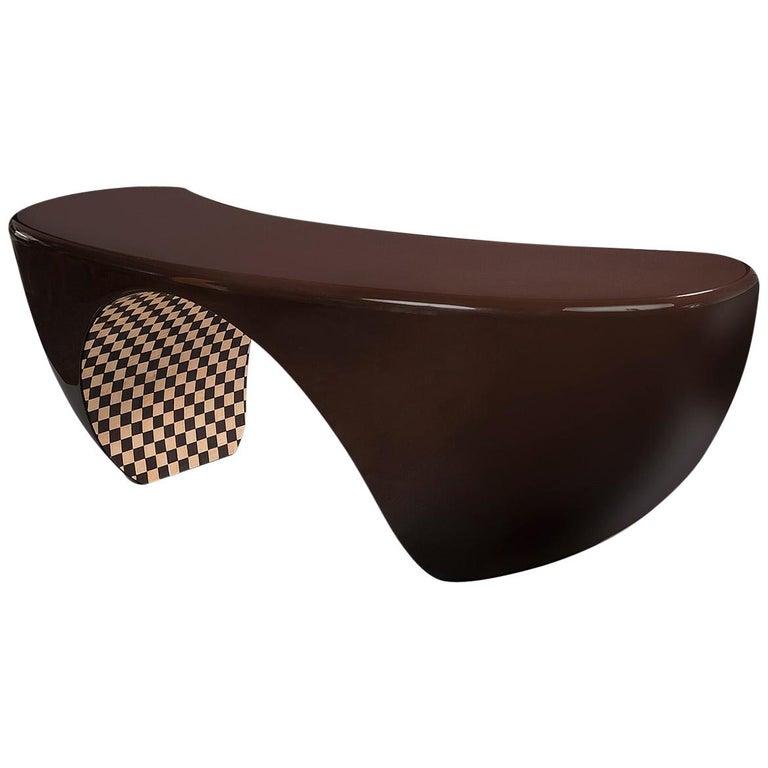 Design Desk, French Designer Charly Bounan For Sale