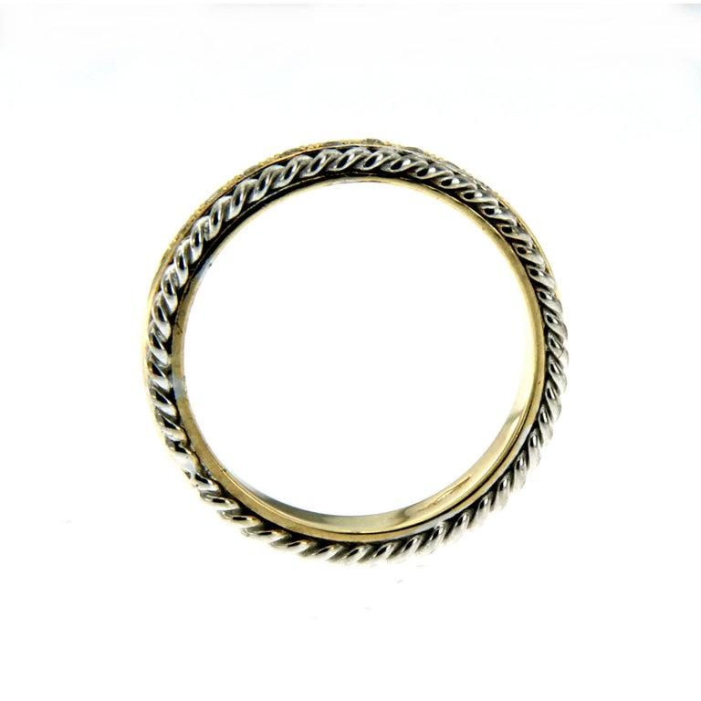 Round Cut Design Diamond Wedding Band Ring For Sale