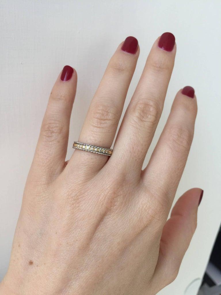 Women's or Men's Design Diamond Wedding Band Ring For Sale