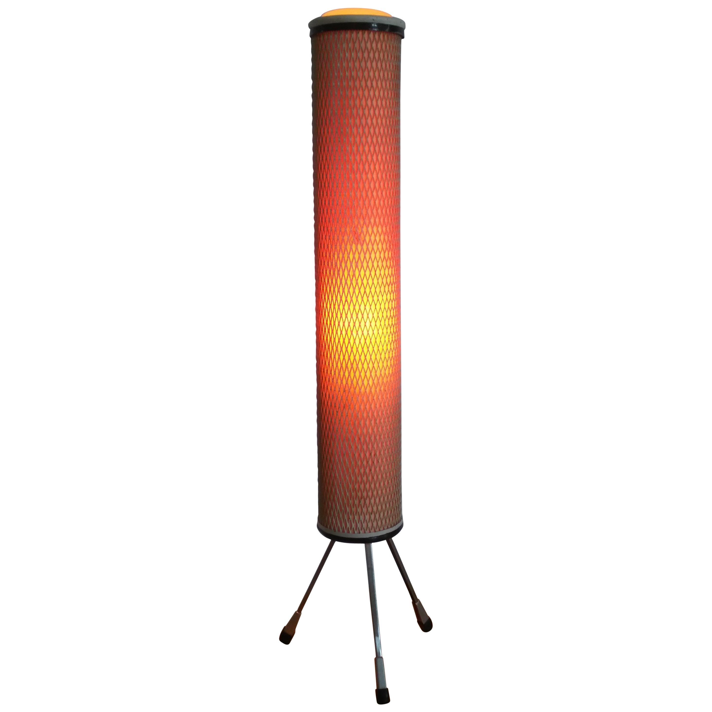 "Design Floor Space Age Lamp ""Rocket"", 1960s"