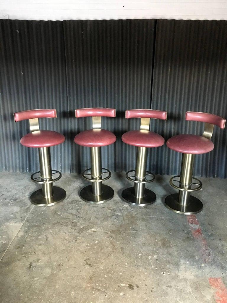 Design For Leisure Set of Four Barstools