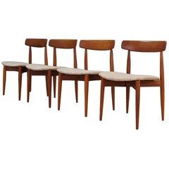 Design H.W.Klein Gray Chairs Danish Vintage, 1960s