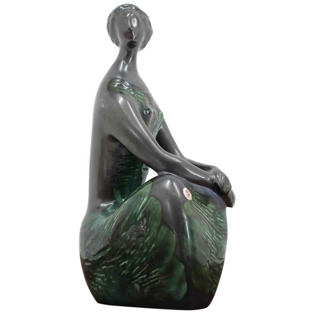 Design Midcentury Sculpture by Jitka Forejtova, 1960s
