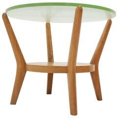 Design Rare Glass Conference Table by Kropáček & Koželka, 1960s