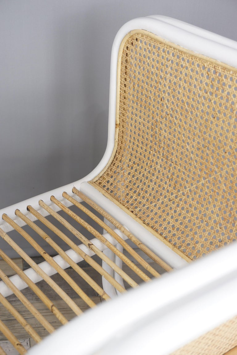 Design Rattan and Wicker Armchair In New Condition For Sale In TOURCOING, FR