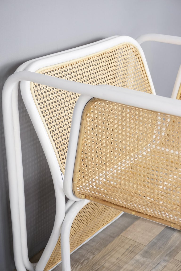Design Rattan and Wicker Armchair For Sale 3