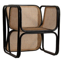 Design Rattan and Wicker Armchair