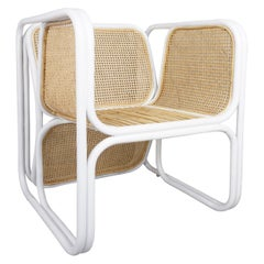 Design Rattan and Wicker Dining Armchair