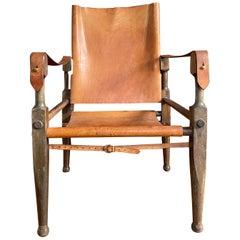 Design Safari Leather Chair by Wilhelm Kienzle for Wohnbedarf, Switzerland, 1928
