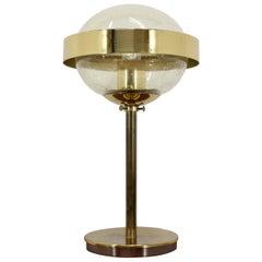 Design Space Age Style UFO Table Lamp, Kamenicky Senov, 1970s
