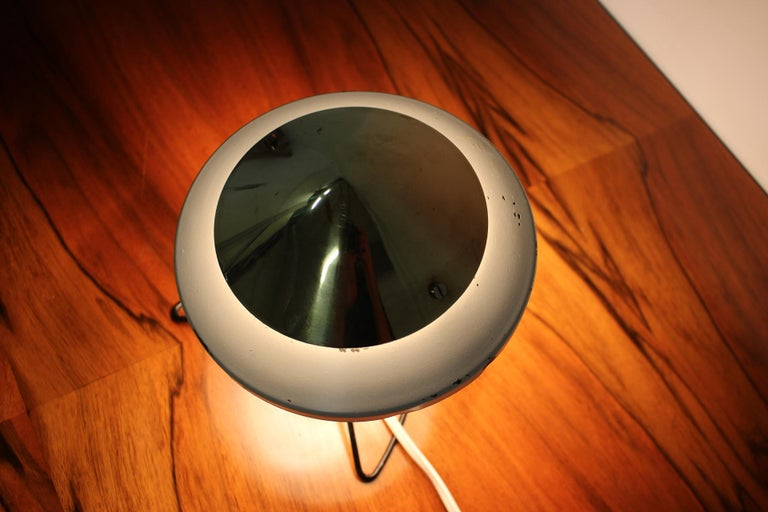 Mid-Century Modern Design Space Age Table Lamp, 1960s For Sale