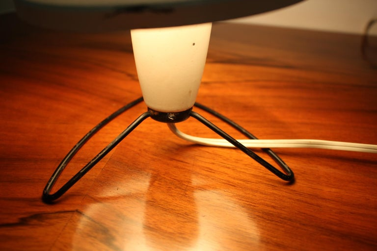 Czech Design Space Age Table Lamp, 1960s For Sale