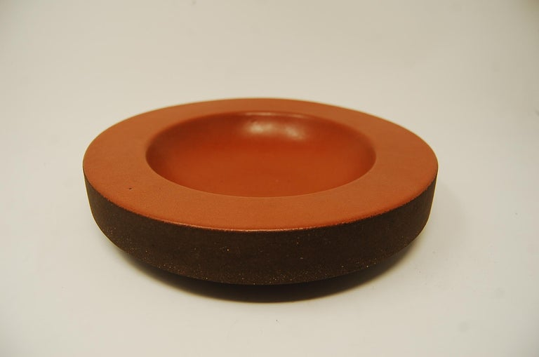 American Design Technics Low Pottery Bowl For Sale
