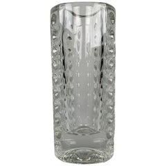 Design Vase by Rudolf Jurnikl for Rudolfova Hut Dubi Glassworks, 1962