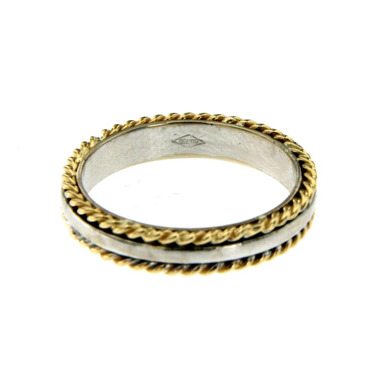 Design Wedding Band Ring In New Condition For Sale In Napoli, Italy
