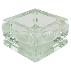 Designed by Le Corbusier for Lumax Glass Desk Tidy Ashtray Catchall