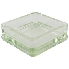 Le Corbusier for Lumax Molded Glass Ashtray Catchall