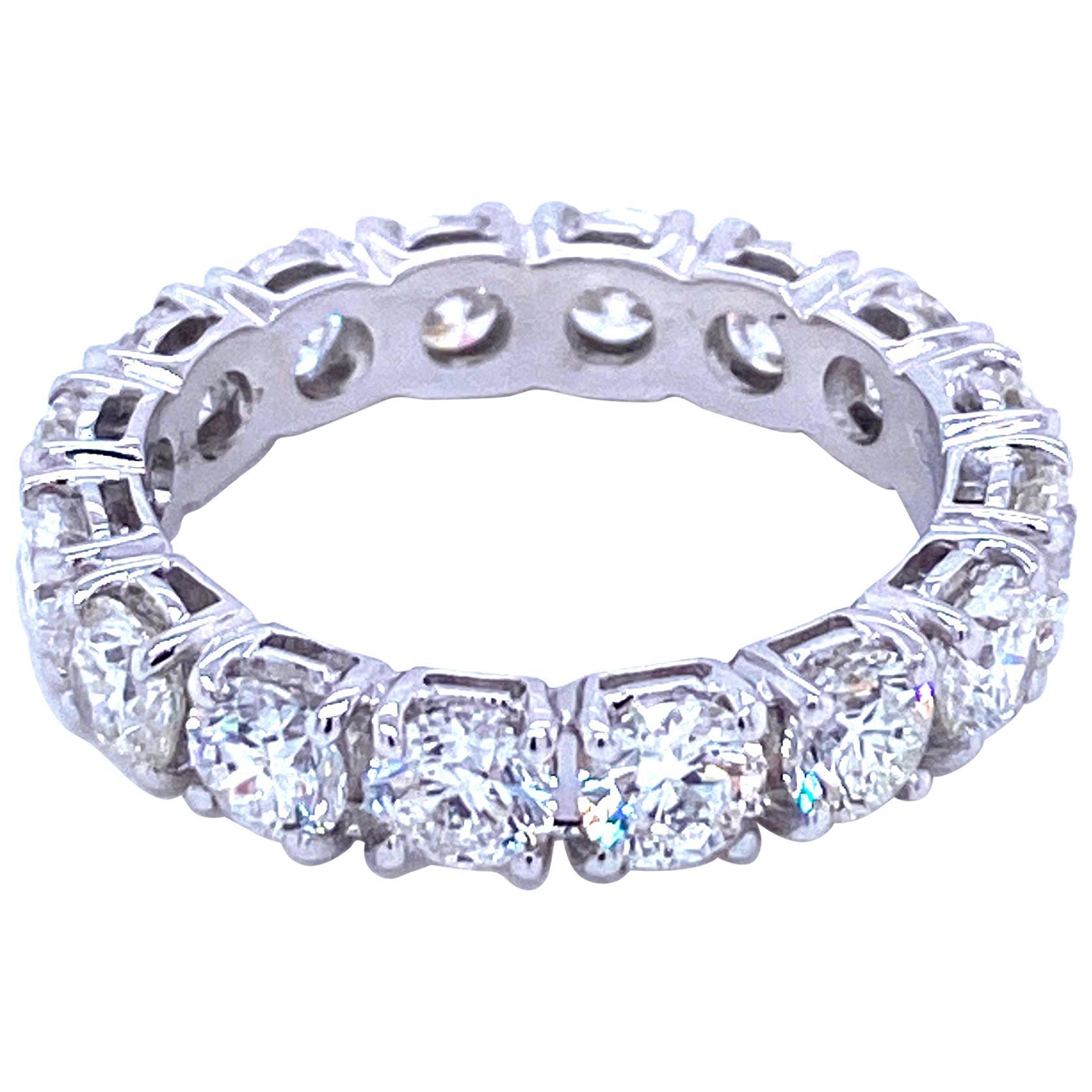 Designer 4 Carat Diamond Eternity Ring