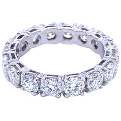 Designer 4 Carat Diamond Eternity Ring