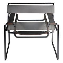 Designer Armchair / Chair Wassily Marcel Breuer / Knoll International