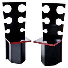Designer Chairs by Max Papiri, Italy, 1970s