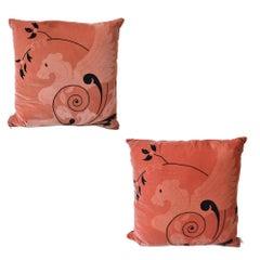 Designer Decorative Pillow Sphinx Design, Pair