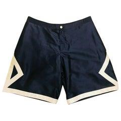 Designer DIOR Air Shorts - Navy/White Size 56 - 3XL