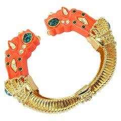 Designer Dragon Bracelet Kenneth Jay Lane Treasures of the Duchess KJL