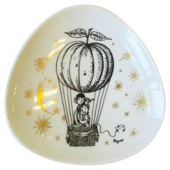 Designer Midcentury Modern Porcelain Jewelry Dish Rosenthal Studio-Line