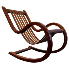 Designer Studio Crafted Rocking Chair Rocker Rosewood