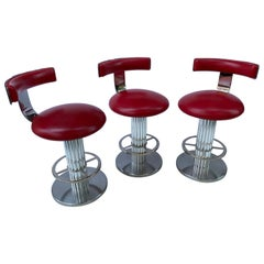 Designs for Leisure LTD.  Set of 3 Counter Height Stools