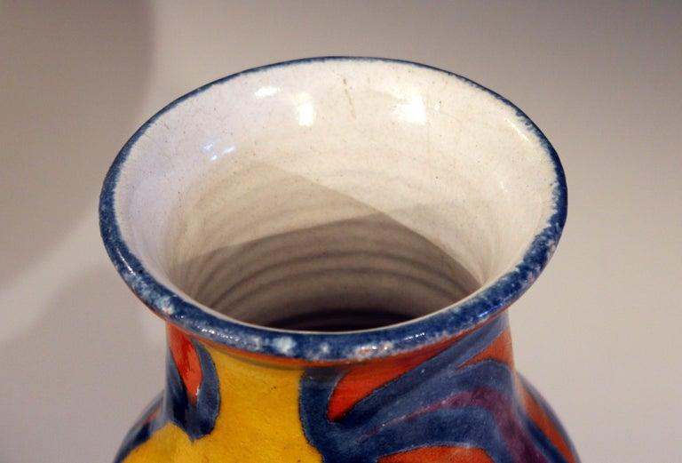 DeSimone Italian Pottery Vase Picasso Cubist Style Vintage For Sale 2