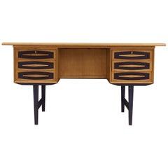 Desk Ash, Danish Design, 1970s