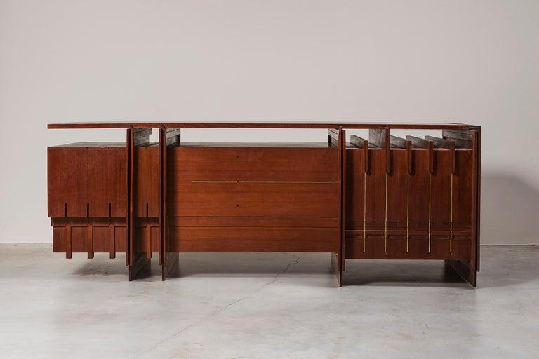 Mid-Century Modern Desk by Giorgio Preti